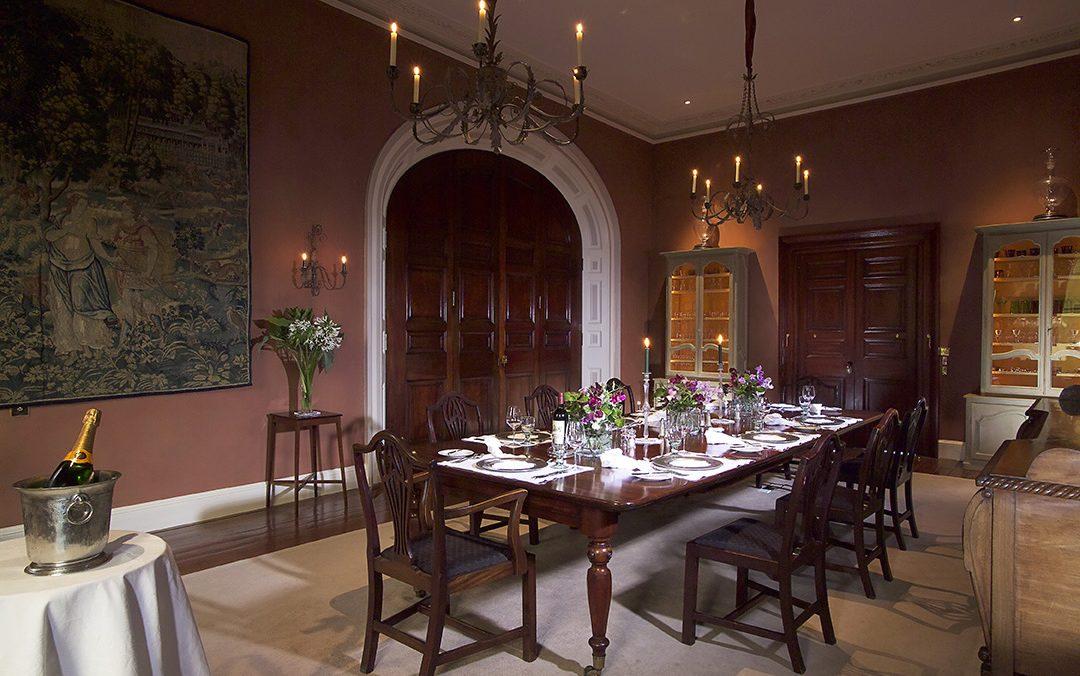 Ballynatray House Dining Room