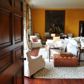 Ballynatray House Drawing Room