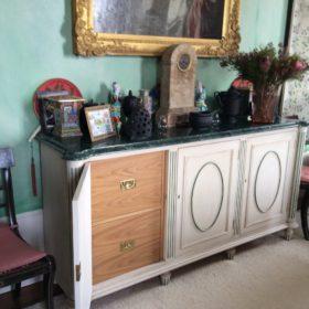 Bespoke filing cabinet open